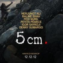 5 cm.